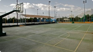 greece outdoor courts